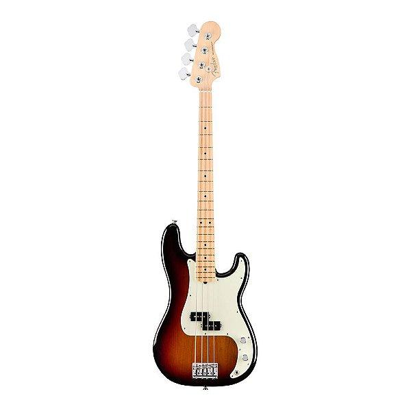 Contrabaixo Fender Am Professional Precision Bass Maple 3 Color Sunburst