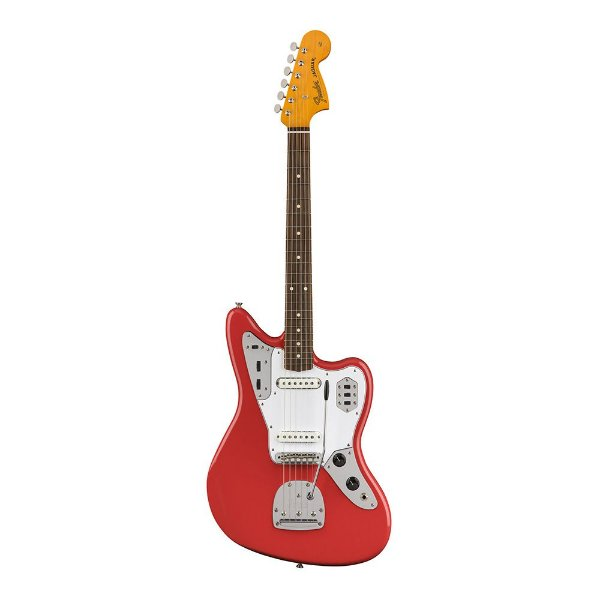 Guitarra Fender 60's Jaguar Lacquer PF Fiesta Red