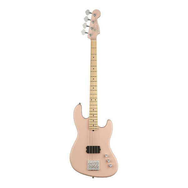 Contrabaixo Fender Sig Series Flea Active Jazz Bass MN Shell Pink