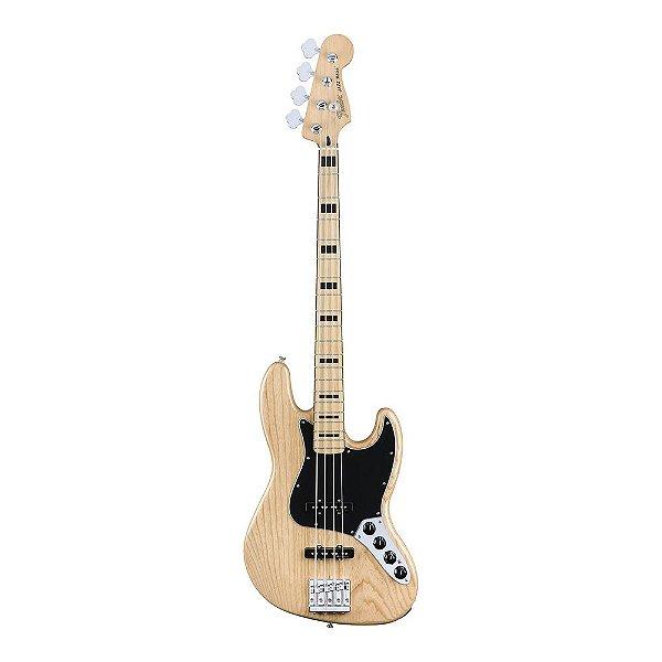 Contrabaixo Fender Deluxe Active Jazz Bass Ash MN Natural