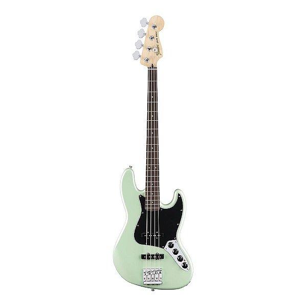Contrabaixo Fender Deluxe Active Jazz Bass Pau Ferro Surf Pearl