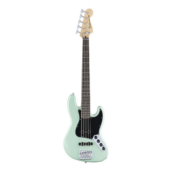 Contrabaixo Fender Deluxe Active Jazz Bass V Pau Ferro Surf Pearl