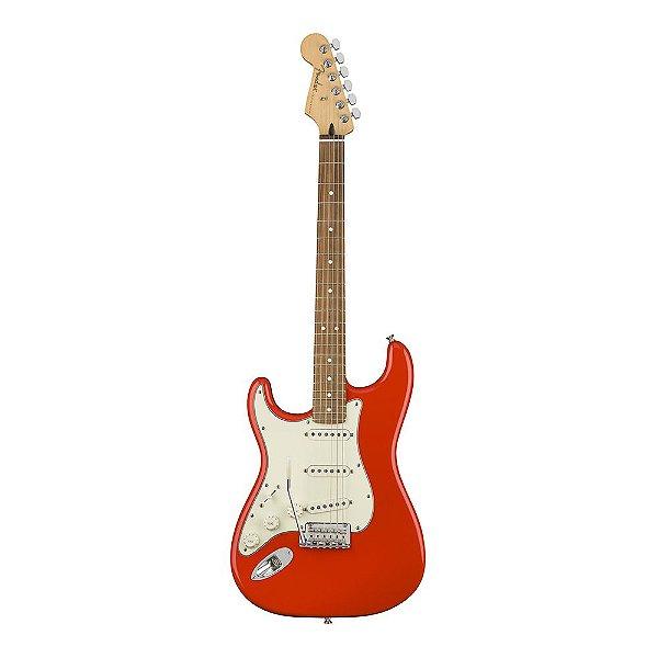 Guitarra Fender Player Stratocaster Canhota PF Sonic Red