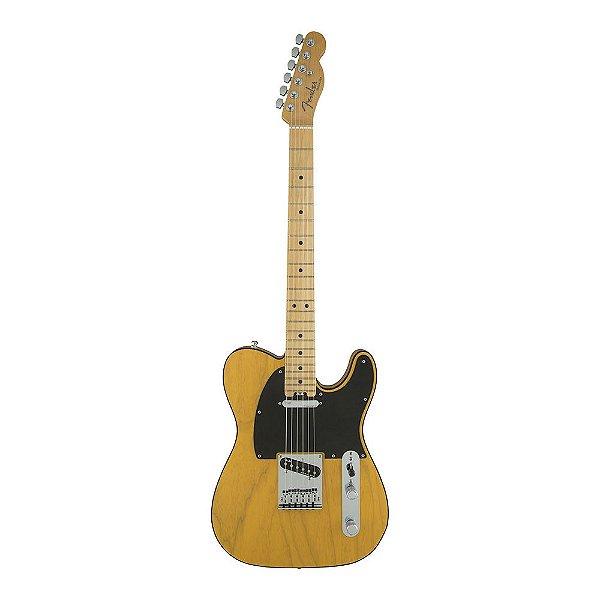 Guitarra Fender American Elite Telecaster Ash Maple Butterscotch Blonde