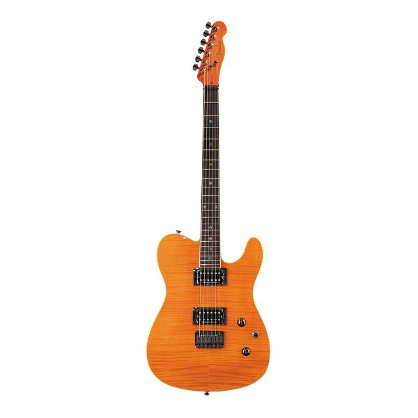 Guitarra Fender Custom Telecaster FMT HH Amber