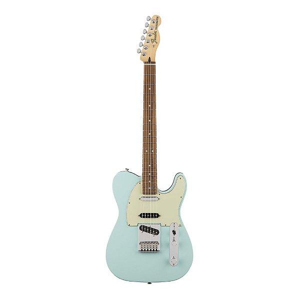 Guitarra Fender Deluxe Nashville Tele Pau Ferro Daphne Blue
