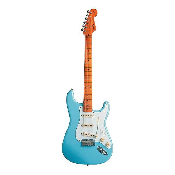 Guitarra Fender 50's Stratocaster Daphne Blue Transparent
