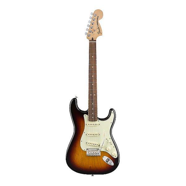 Guitarra Fender Deluxe Roadhouse Strat Pau Ferro 3 Color Sunburst