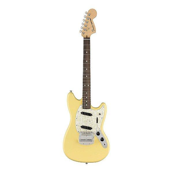 Guitarra Fender American Performer Mustang RW Vintage White