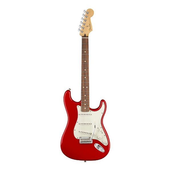 Guitarra Fender Player Stratocaster PF Sonic Red