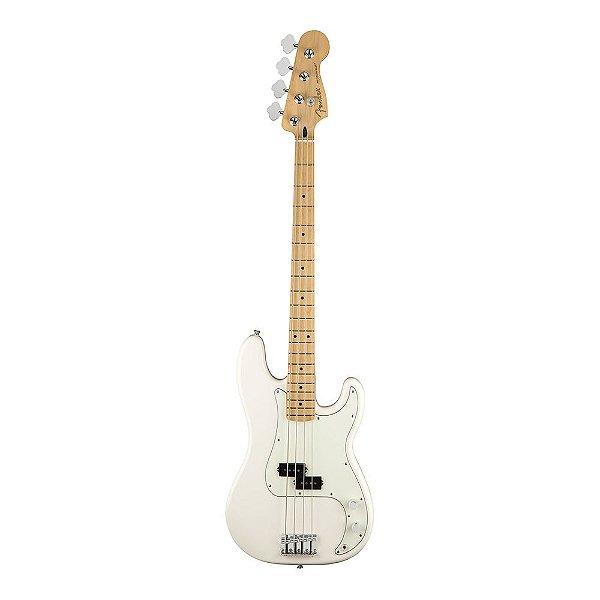 Contrabaixo Fender Player Precision Bass MN Polar White
