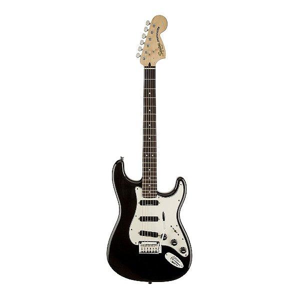 Guitarra Squier Deluxe Hot Rails Strat LR Black