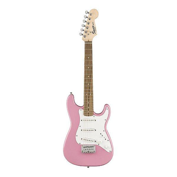 Guitarra Squier Mini Strat V2 LR Pink