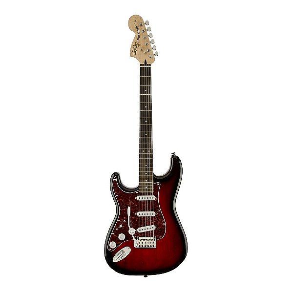 Guitarra Squier Standard Stratocaster LR Canhota Antique Burst