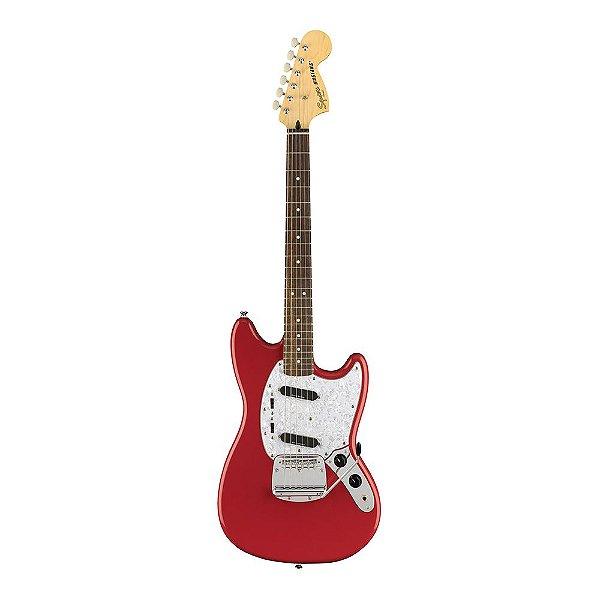 Guitarra Squier Vintage Modified Mustang LR Fiesta Red