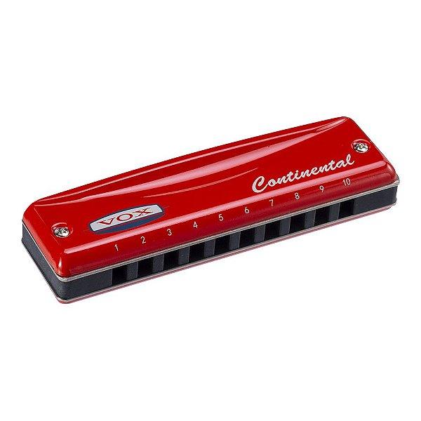 Gaita Vox Continental VCH 2 A Red