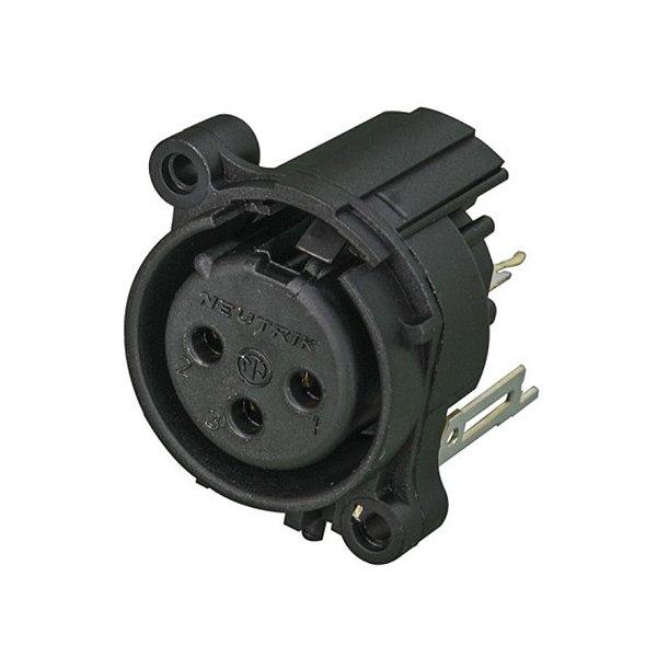 Conector Neutrik NC3FAAV2-0