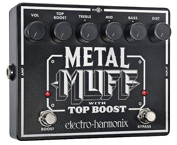 Pedal Electro Harmonix Metal Muff