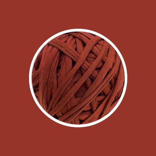 Fio de Malha Premium 23 mm - Cerâmica Vermelha - 150metros - aprox. 500gr