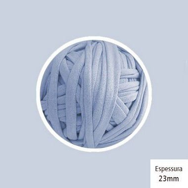 OUTLET - Fio de Malha Premium 23 mm - Azul Bebê - 434 gr