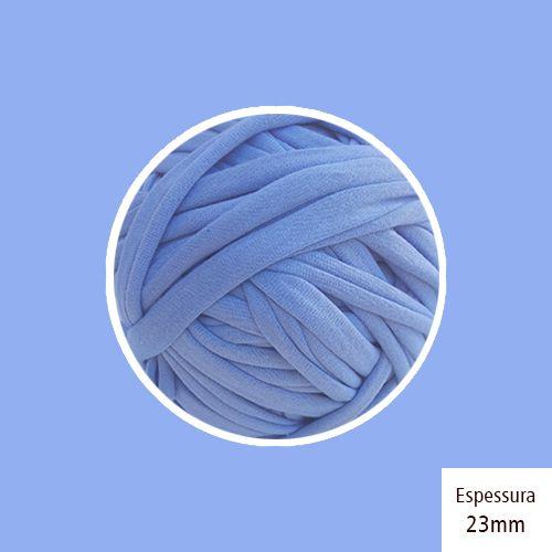 OUTLET - Fio de Malha Premium 23 mm - Azul Lavanda - 428 gr