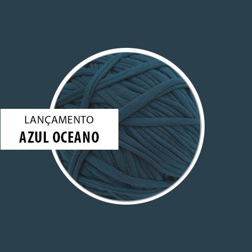 OUTLET - Fio de Malha Premium 23 mm - Azul Oceano - 474gr