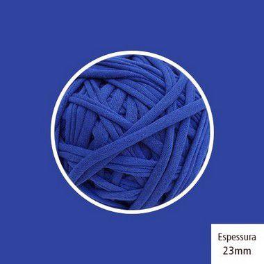 OUTLET  Fio de Malha Premium 23mm - Azul Royal - aprox. 348gr