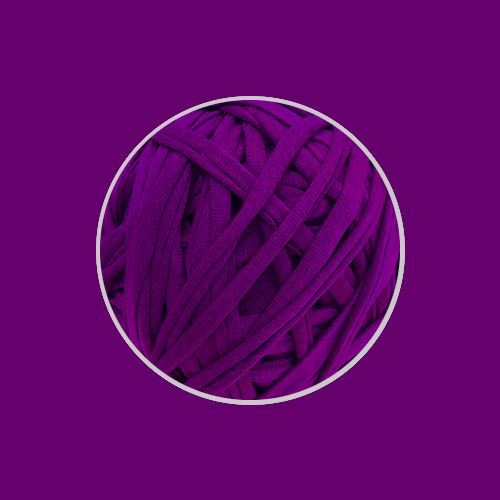 OUTLET  Fio de Malha Premium 23mm - Ultravioleta - aprox. 470gr