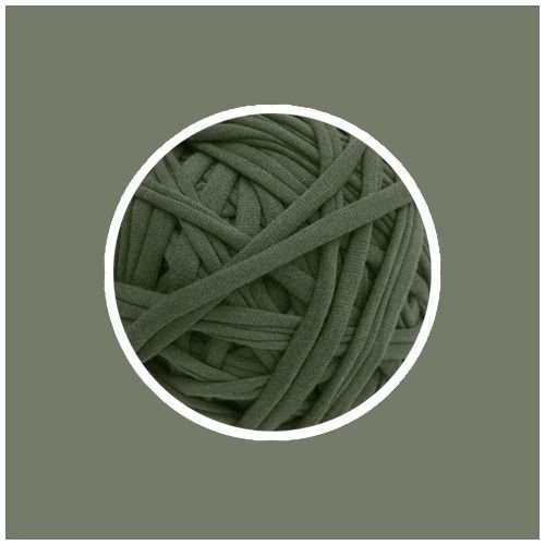 OUTLET  Fio de Malha Premium Fio 23mm - Verde Cana - aprox. 336gr