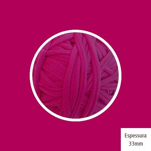 OUTLET- Fio de Malha Premium 33 - Pink Magenta - 266gr