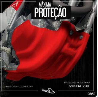 Protetor Carter / Link de Suspensão CRF 250F