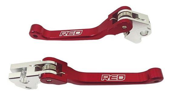 Kit Manete Retrátil  Red Dragon Crf 230/Crf 250 f Par