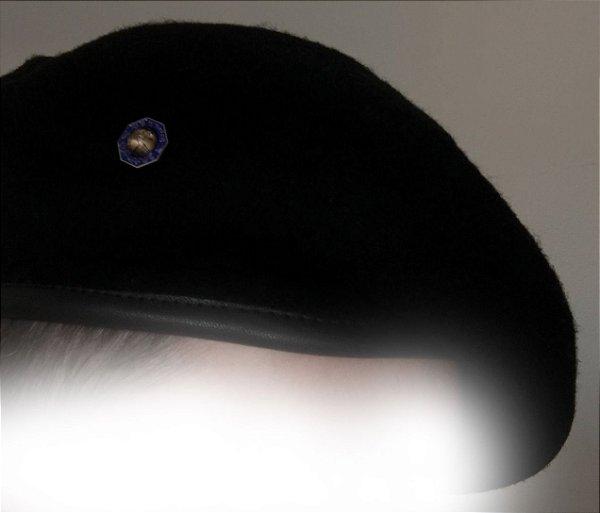Boina Preta com Emblema de Líder MV Master Comrade - IASD7 ... c78bdf8dc0a