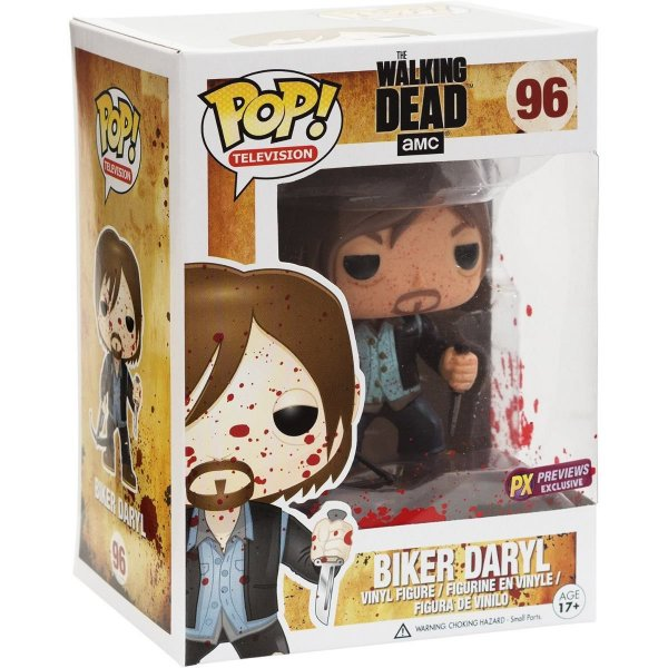 Funko Pop The Walking Dead - Bloody Biker Daryl Dixon Px