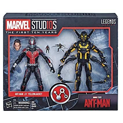 Marvel Studios: The First Ten Years Ant-Man and Yellowjacket - Homem-Formiga e Jaqueta Amarela