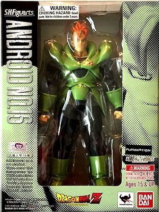 Dragon Ball Z - Android 16 - S.h.figuarts - Bandai