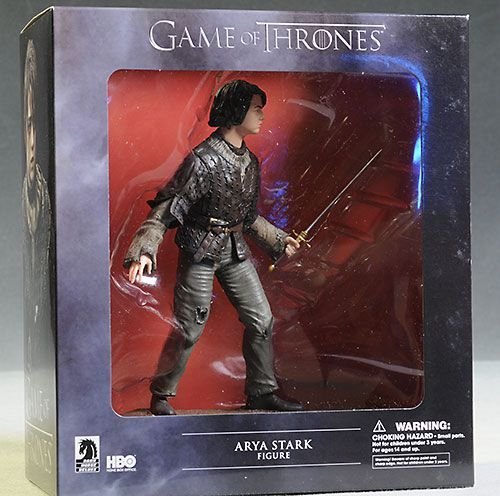 Arya Stark Game of Thrones Dark Horse Deluxe