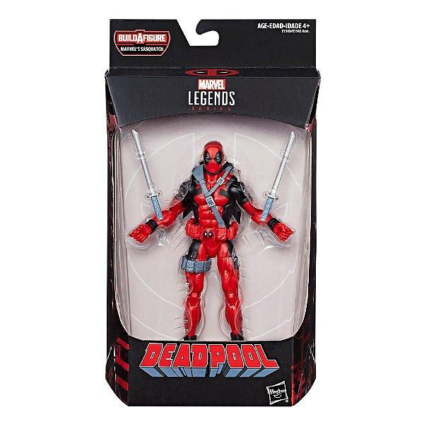 Marvel Legends Series - Deadpool Lacrado Original Hasbro