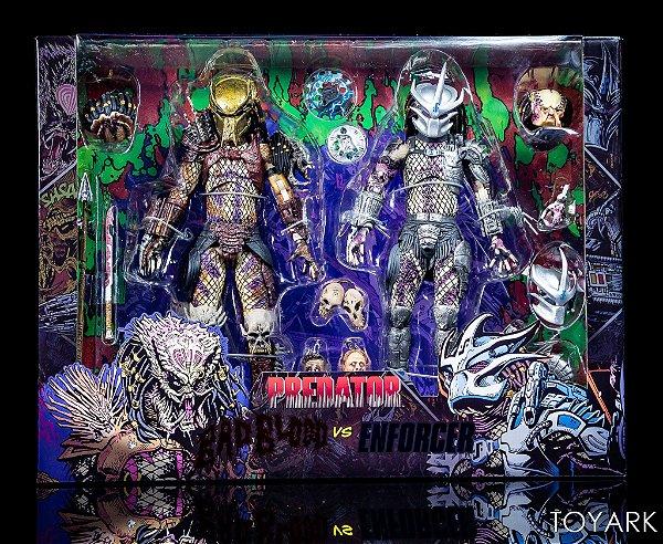 Bad Blood Predator vs Enforcer Predator Ultimate 2-Pack by NECA