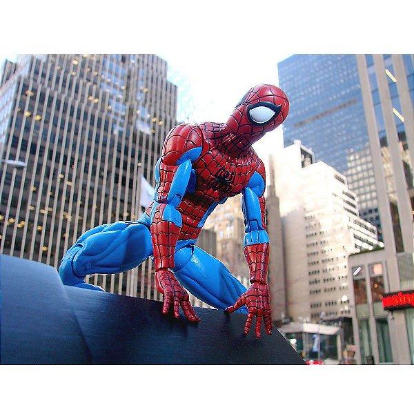 Homen Aranha Marvel Diamond Select Disney Store Spider-Man