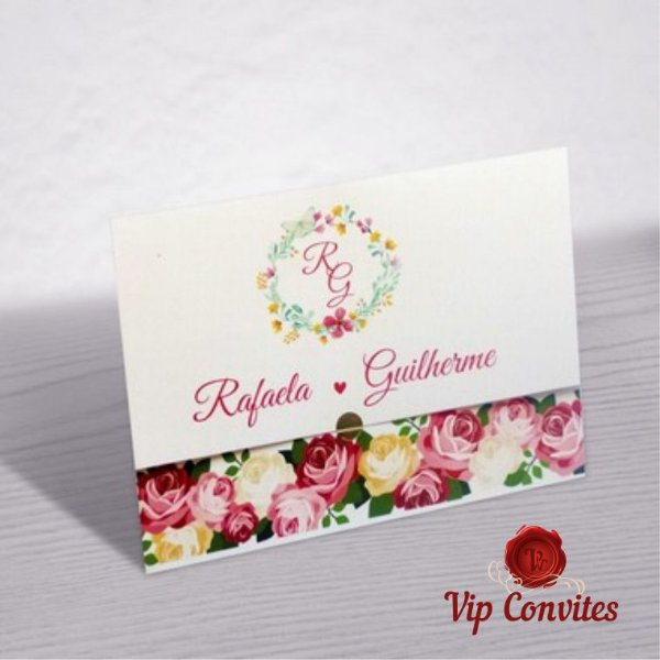 Convite Casamento R&G