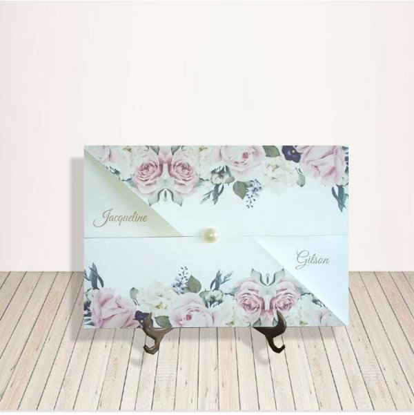 Convites J&G -  Floral