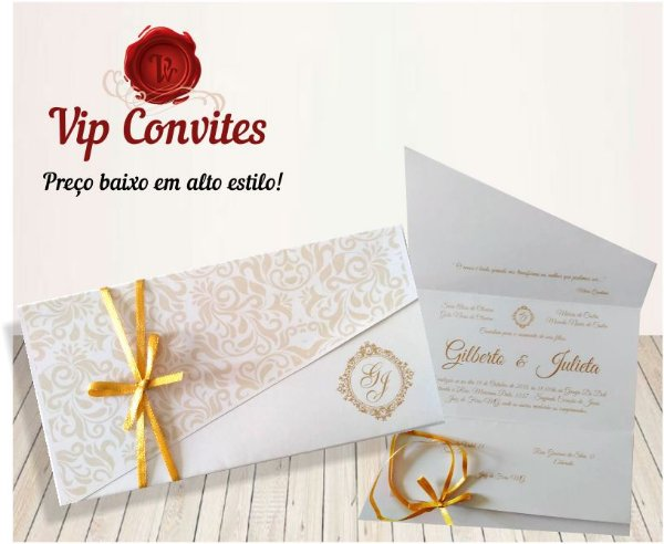 Convite Clássico  Paraguai