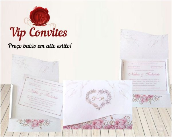 Convite Envelope D&R