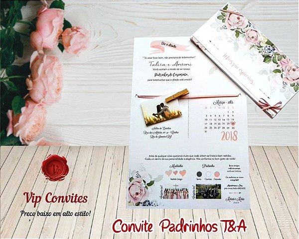 Convite T&B  (MÍNIMO 10 UNIDADES)