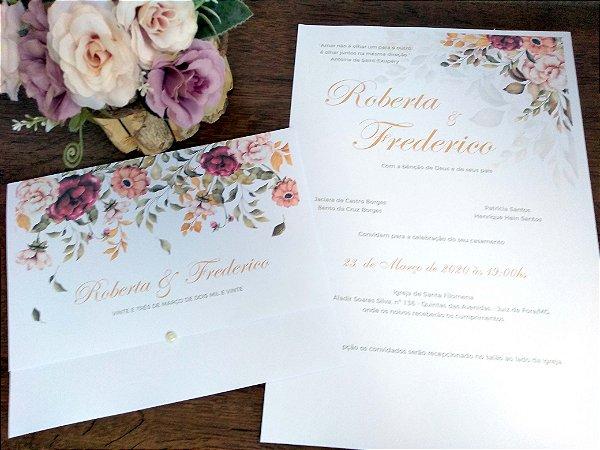 Convite  Flores do Campo