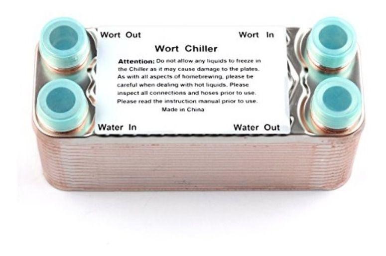 Chiller 30 Placas Inox Resfriador De Cerveja