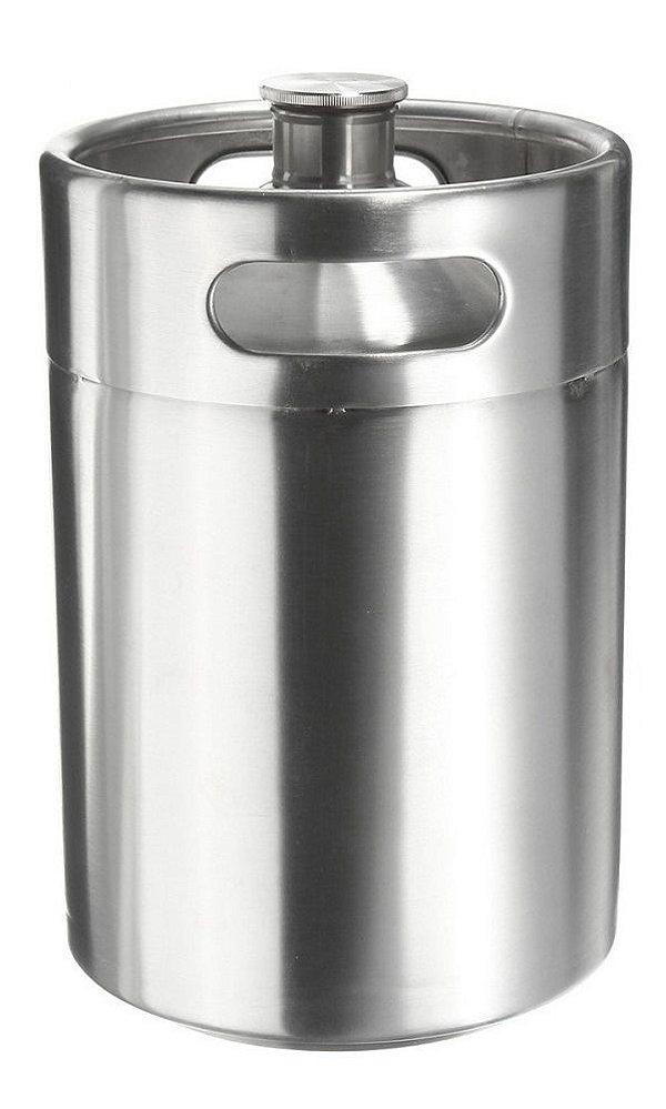 Growler Inox 5 Litros Mini Keg