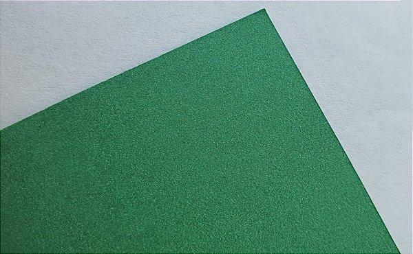 Papel perolado A4 colorido na massa liso Verde Bandeira 180g