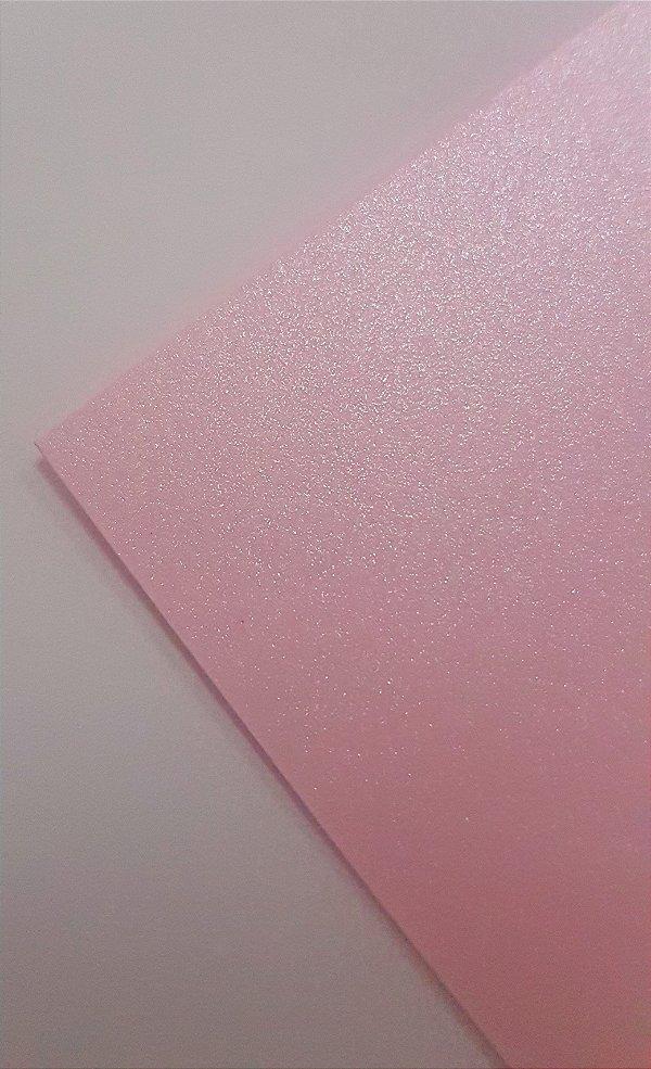 Papel perolado A4 colorido na massa liso Pétala